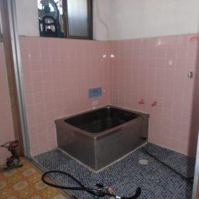 お風呂・洗面脱衣場解体工事
