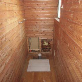 2階トイレ解体