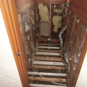 壁・床解体中
