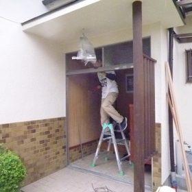 玄関ドア入替え