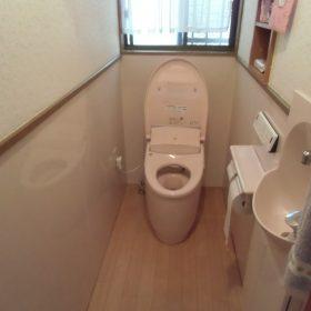 トイレ入替え