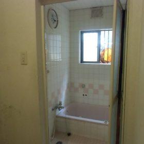洗面、風呂改修工事